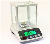 HRB 203 balance scale with glass draft shield