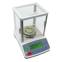 HRB 303 balance scale with glass draft shield