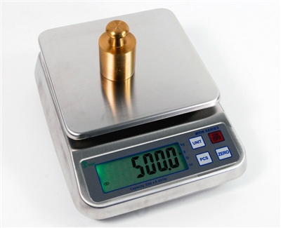 3lb x 0.0001lb - WASHDOWN DIGITAL SCALE - PERFECT FOR FOOD AND CHEMICAL INDUSTRIES