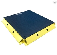 4' bumper guard for floor scale