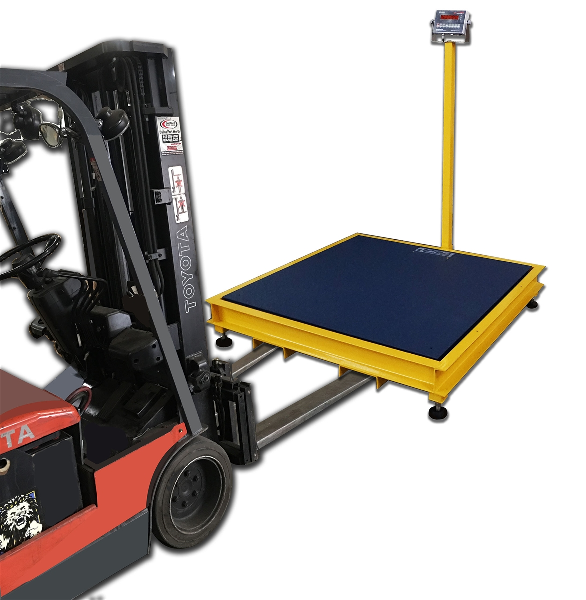 3 X 3 Portable Floor Scale Pit Frame