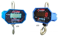 Optima 10,000 x 2 lb LED Hanging Industrial Crane Scale