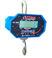 Optima 40,000 x 10 lb LCD Hanging Industrial Crane Scale