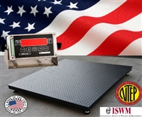USA made floor scale - 5 x 7