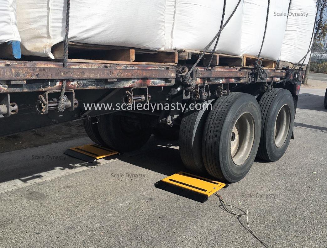portable truck axle scale