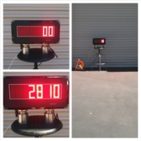 Fuel truck remote display
