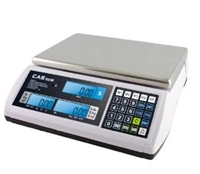 CAS 15 LB Portable LCD Price Computing Scale - Legal for Trade