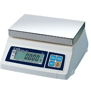 CAS 20 Lb Portion Control Scale With Rear Display Legal