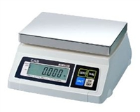 50 lb x 0.02 lb Portion Control Scale with Rear Display - Legal for Trade