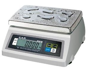 50 lb Washdown Portion Control Scale - Rear Display - Legal for Trade
