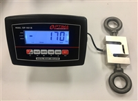 5,000 lbs x 0.5 lb Crane Scale - S Type Load Cell with Indicator