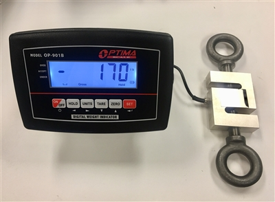 5 000 Lbs X 0 5 Lb Crane Scale S Type Load Cell With Lcd