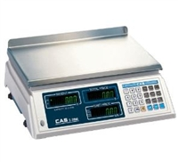 CAS S2000 60 x 0.02 lb Dual Range Price Computing Scale - Legal for Trade