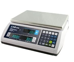 CAS 60 LB Portable VFD Price Computing Scale  - Legal for Trade
