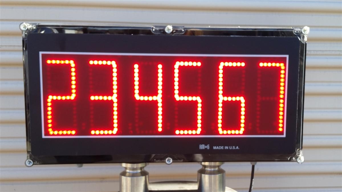 Tr 1 Nk Se 6 Quot Tall Digits Digital Display Indicator