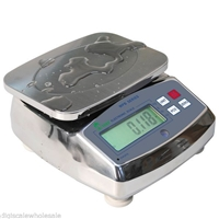 13 lb x 0.005 lb - Waterproof Scale - Perfect for Food and Chemical Industries